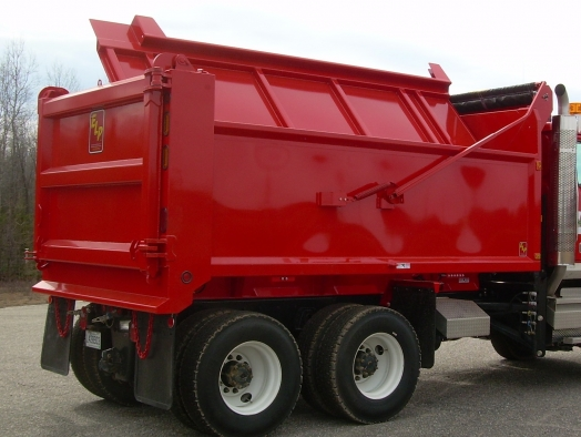 Multi-use side dump bodies (4 seasons) SERIES 325